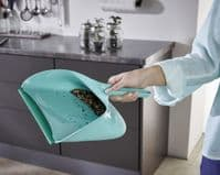LEIFHEIT Dustpan With Dirt Chamber And Hand Brush Set